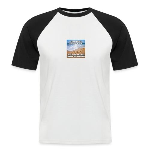 nichts Positives in 2020 - kein Corona-Test? - Männer Baseball-T-Shirt
