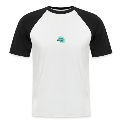 beste vriendeSpace - Mannen baseballshirt korte mouw