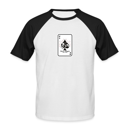 since0302 - T-shirt baseball manches courtes Homme