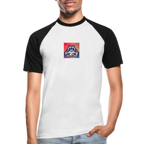 bcde_logo - Männer Baseball-T-Shirt