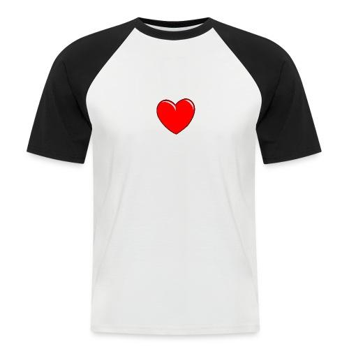 Love shirts - Mannen baseballshirt korte mouw