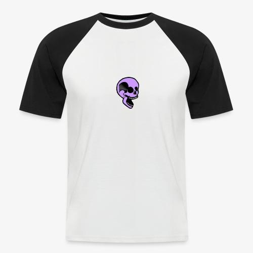 violet skull - T-shirt baseball manches courtes Homme