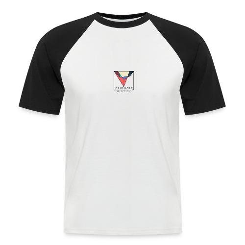 Official Flip Side logo - Men's Baseball T-Shirt