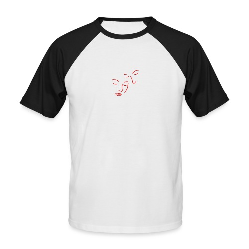 'I will always have your back' (pocket) - Men's Baseball T-Shirt
