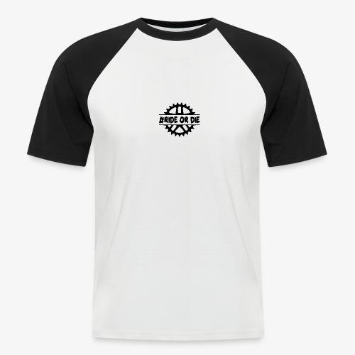 Brustlogo - Männer Baseball-T-Shirt