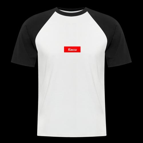Kaccu box logo - Miesten lyhythihainen baseballpaita