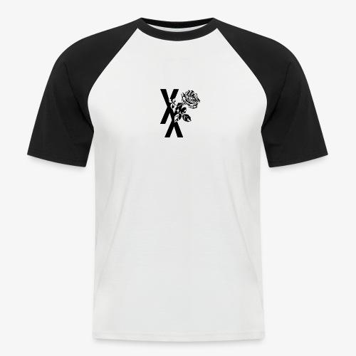 EST19XX ROSE - Mannen baseballshirt korte mouw