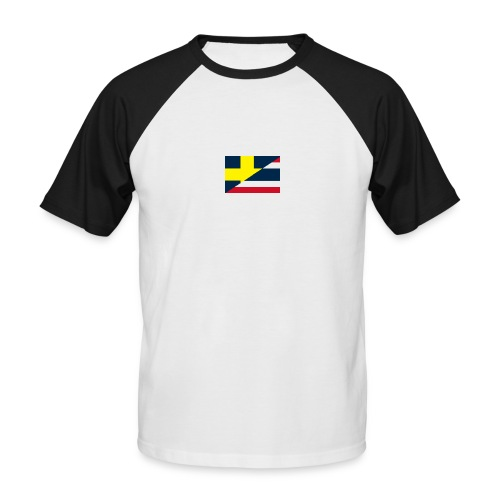 thailands flagga dddd png - Men's Baseball T-Shirt
