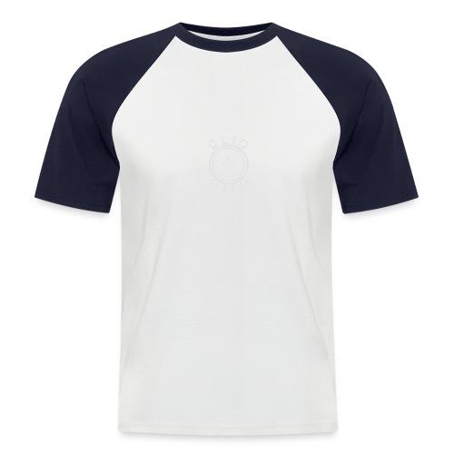 Compass by OliC Clothess (Light) - Kortærmet herre-baseballshirt