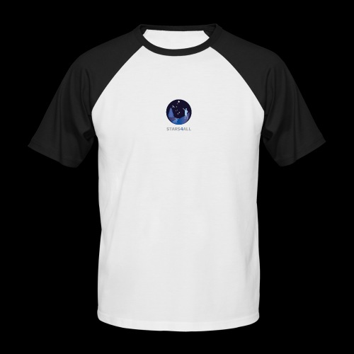 Stars4All - Camiseta béisbol manga corta hombre