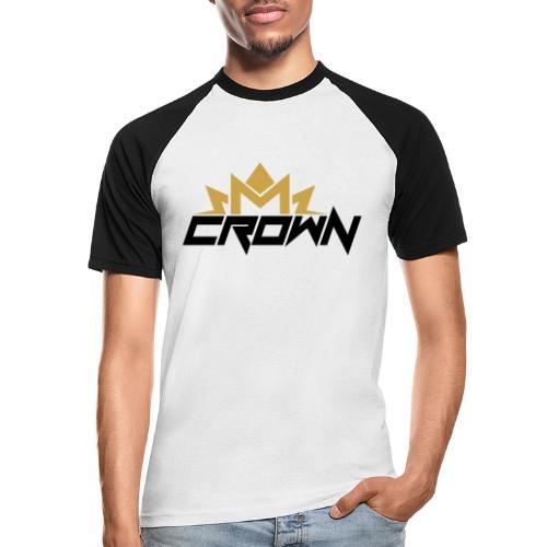 crown neu - Männer Baseball-T-Shirt
