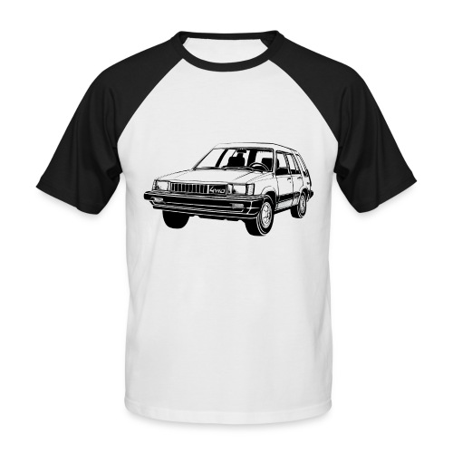 Tercel 4WD illustration - Autonaut.com - Men's Baseball T-Shirt