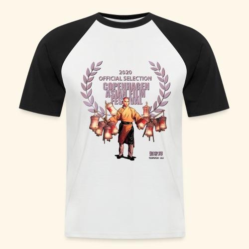 CAFF - Official Item - Shaolin Warrior 4 - Kortærmet herre-baseballshirt