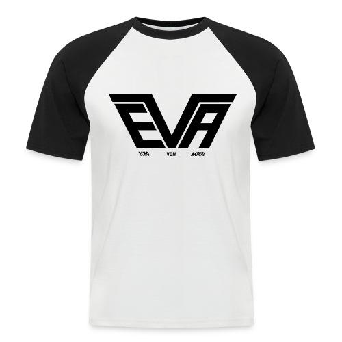 EVA Logo FB 01fürPfade - Männer Baseball-T-Shirt