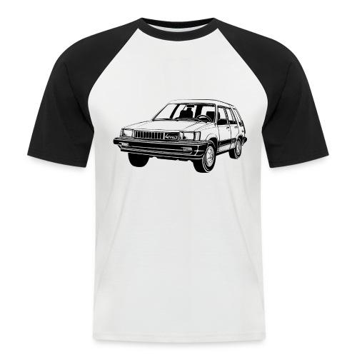 Tercel 4WD illustration - Autonaut.com - Men's Baseball T-Shirt