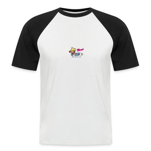 panki sticker neu - Männer Baseball-T-Shirt