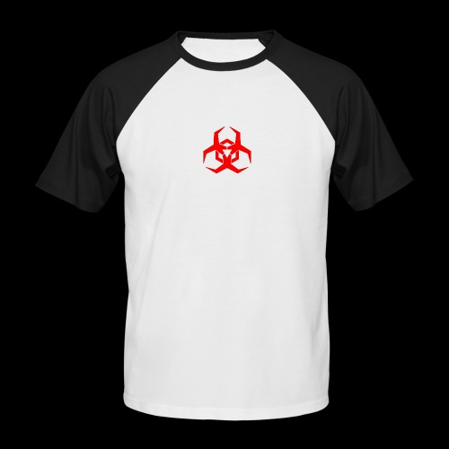 Radioaktive - Kortærmet herre-baseballshirt