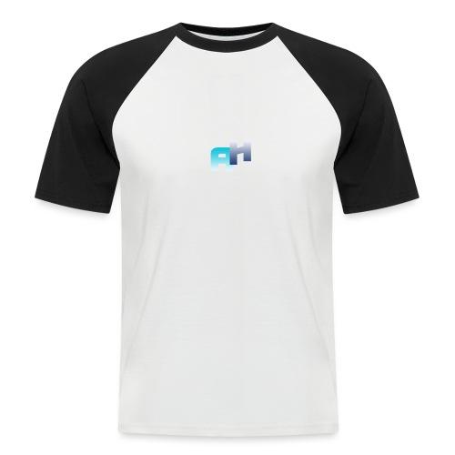 Logo-1 - Maglia da baseball a manica corta da uomo