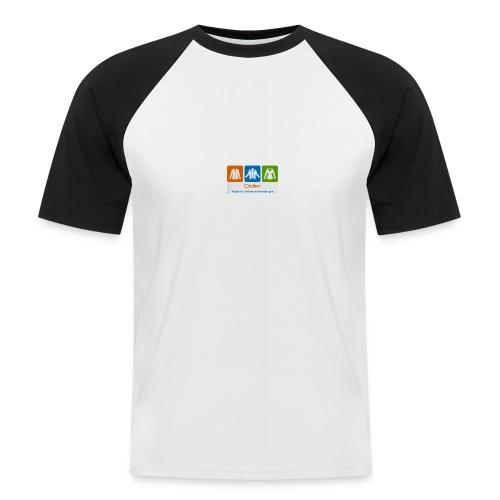 IMG 3596 - Kortærmet herre-baseballshirt