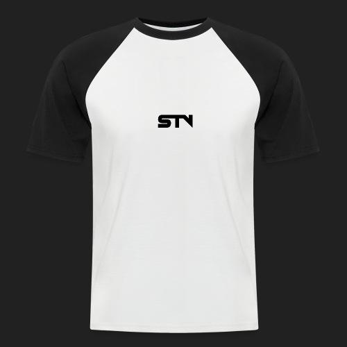 STV Logo Black - Men's Baseball T-Shirt