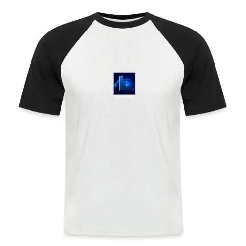 Logo GamenMetLucas - Mannen baseballshirt korte mouw