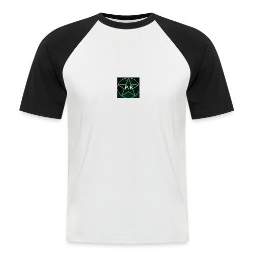 logo P.R - T-shirt baseball manches courtes Homme