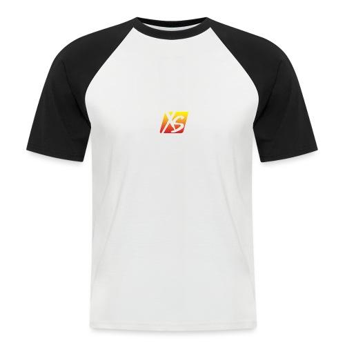 xs - Camiseta béisbol manga corta hombre