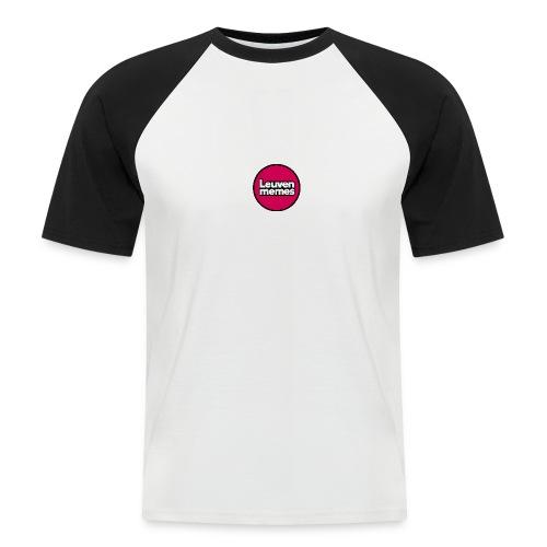 Logo LeuvenMemes - T-shirt baseball manches courtes Homme