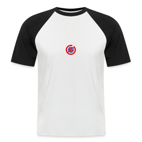 TEAM JG Logo top - Men's Baseball T-Shirt