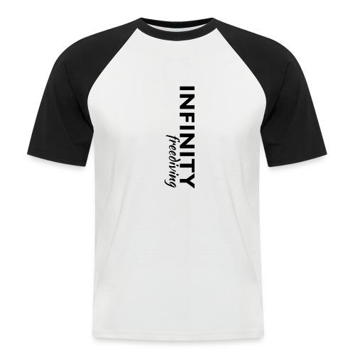 Infinity - Männer Baseball-T-Shirt