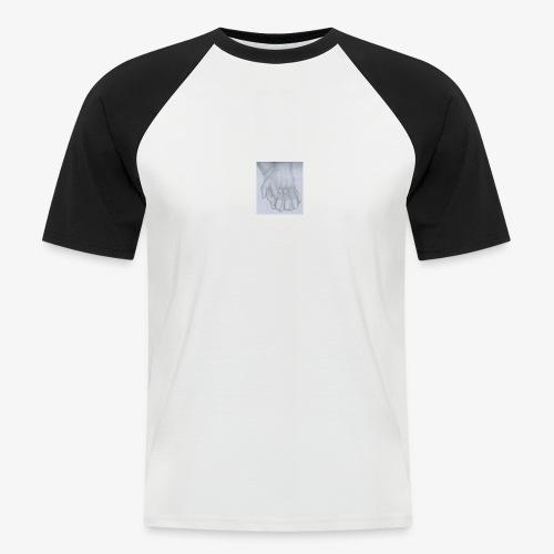 main dans la main - T-shirt baseball manches courtes Homme