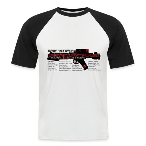 swbf veteran - Kortermet baseball skjorte for menn
