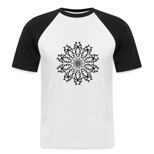 fleur - T-shirt baseball manches courtes Homme