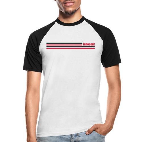 innocent stripes - Männer Baseball-T-Shirt