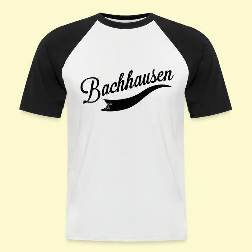Vintage 1 schwarz - Männer Baseball-T-Shirt