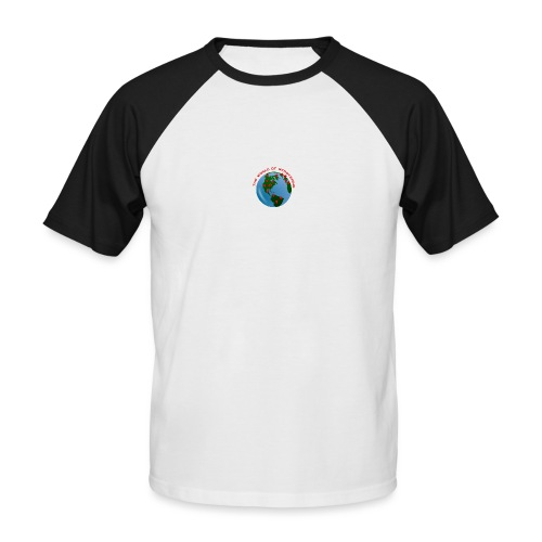 The World Of Scootering - Männer Baseball-T-Shirt