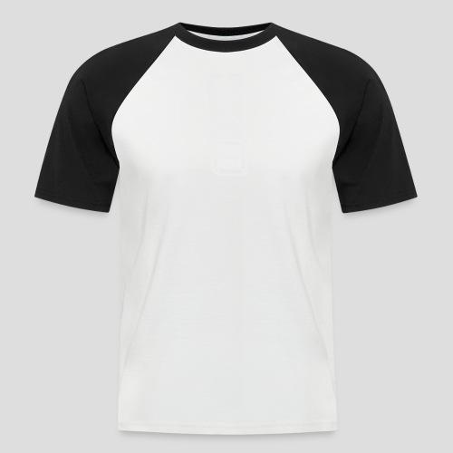 Squared Apparel White Logo - Men's Baseball T-Shirt