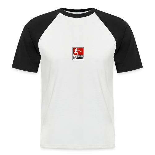 Jugger LigaLogo - Männer Baseball-T-Shirt