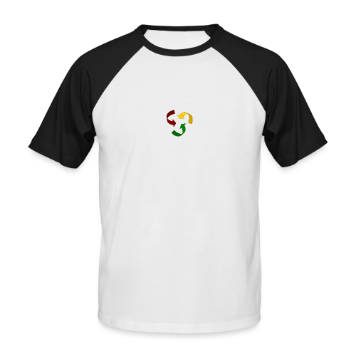 Rastacycle - T-shirt baseball manches courtes Homme