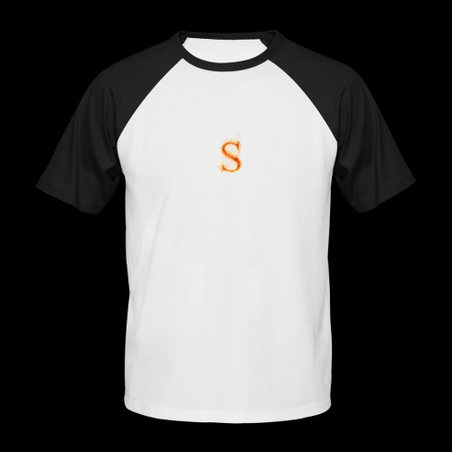 S FOR Sonnit Fire Charge - Men's Baseball T-Shirt