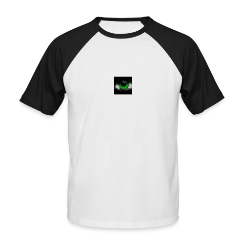 Green eye - Men's Baseball T-Shirt