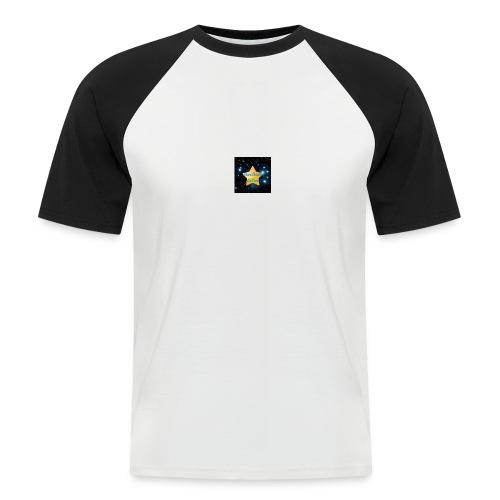 Logo Janvier-Juin 2017 de StarStudio LeLive ! - T-shirt baseball manches courtes Homme