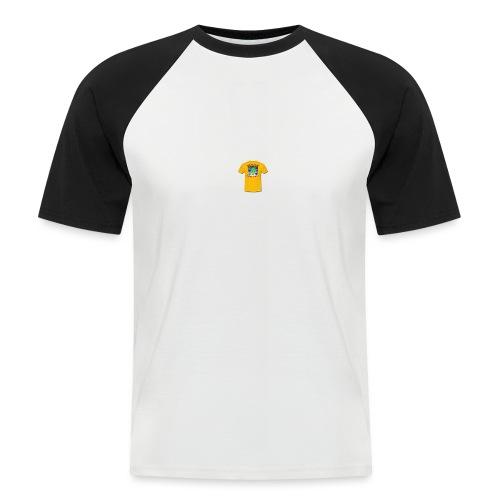 Castle design - Kortærmet herre-baseballshirt