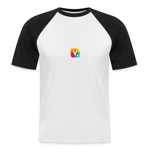 vPCpWJY png - Kortærmet herre-baseballshirt