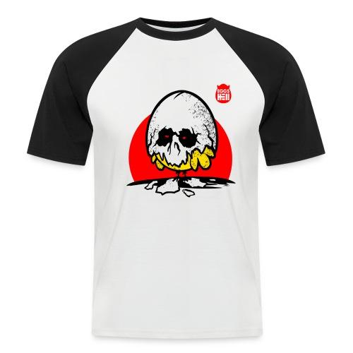 Eggshell skull - easter egg - Men's Baseball T-Shirt