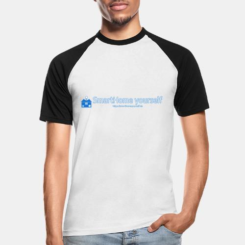 SmarthomeYourself Logo - Männer Baseball-T-Shirt