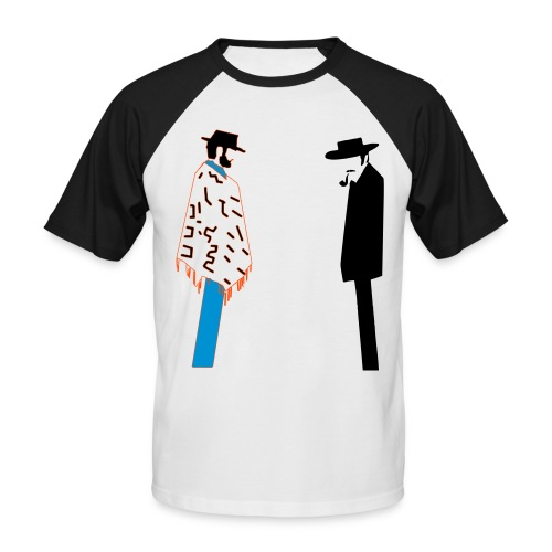 Bad - T-shirt baseball manches courtes Homme