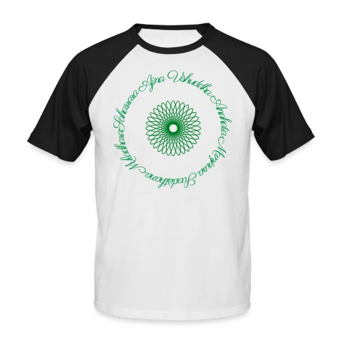 Les Chakras - T-shirt baseball manches courtes Homme