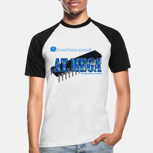 dATisMEGA - Männer Baseball-T-Shirt