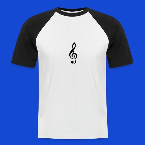 musical - Camiseta béisbol manga corta hombre